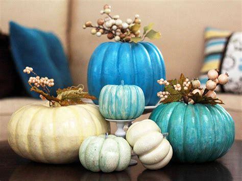 pretty pumpkins for fall a pretty painted pumpkin centerpiece hgtv