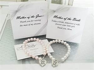 mother of the bride pearl strand bracelet mother of the With wedding gifts for the bride