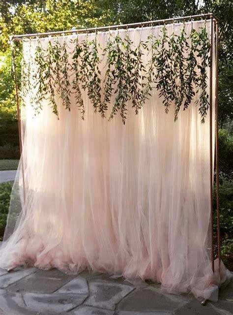 Diy Outdoor Photo Backdrop by Outdoor Wedding Ceremony Decor Wedding Special Event
