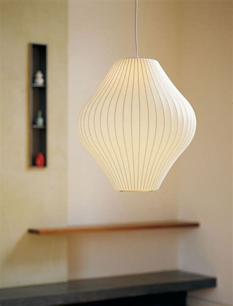 george nelson pear l modern pendant lighting san