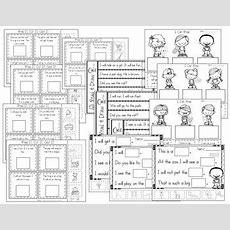 I Can Read Sentences For Understanding! Kindergarten Reading Comprehension