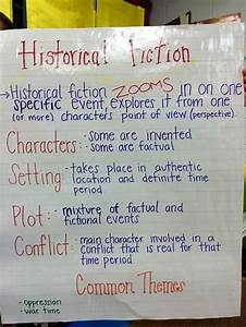 Historical Fiction Anchor Chart For 5th Grade Historical