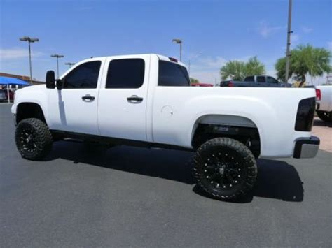 buy   gmc sierra  hd crew cab diesel lt   lifted truck  salesweet