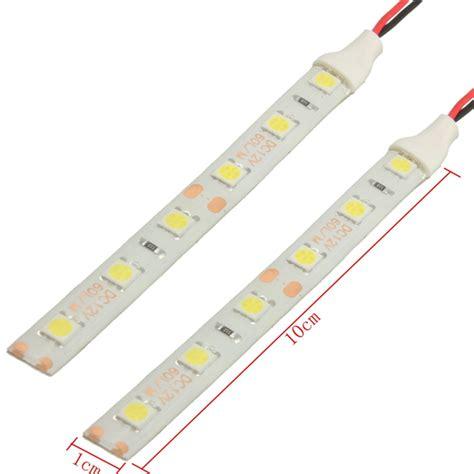 2pcs waterproof led lights 10cm 6 led 5050