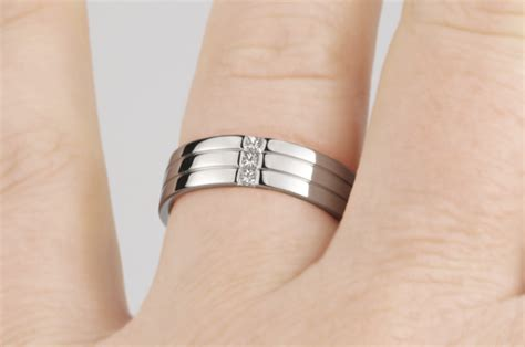 diamonds patterns wedding rings for men