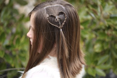 heart accents valentine s day hairstyles
