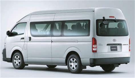 Mobil Toyota Hiace by Harga Mobil Toyota Hiace Dan Spesifikasi Detailmobil