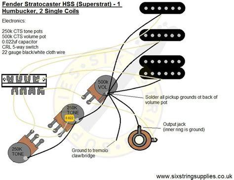 Cbg Wiring Diagram by Strat Wiring Diagram Humbucker 2 Single Coils