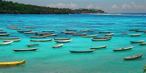lembongan island village  departure  sanur beach