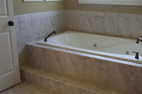 tiling a bathtub deck drop in tub surround ideas tile tub surrounds new home