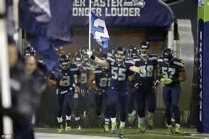 record breaking cheers  seahawks fans caused small
