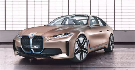 pure electric bmw concept  shapes sporty  sustainable