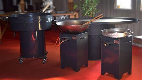 grote wokpannen braba wok barbecue