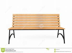 Wooden Park Bench Stock Photo - Image: 38345370