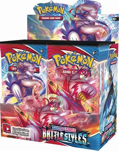 Pokemon Booster Battle Sword Shield Packs Boxes