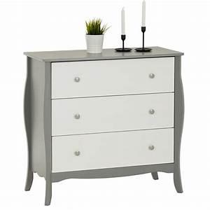 Kommode Grau Weiß : kommode in grau wei im barockstil caro m bel ~ Watch28wear.com Haus und Dekorationen