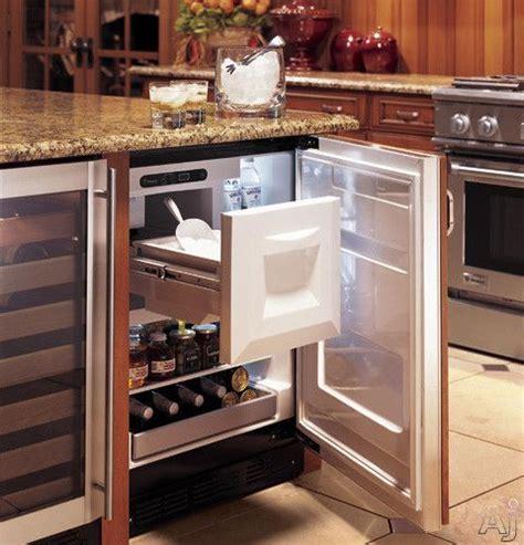 monogram zibipii  built  compact bar refrigerator   cu ft capacity spillproof