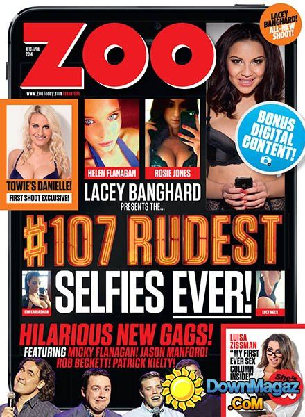 zoo issue april magazine downmagaz