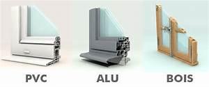 Chassis en alu bois pvc quelles sont les differences for Menuiseries pvc en ligne
