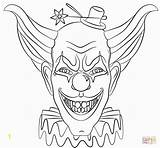 Pennywise Coloring Pages Clown Printable Fresh sketch template