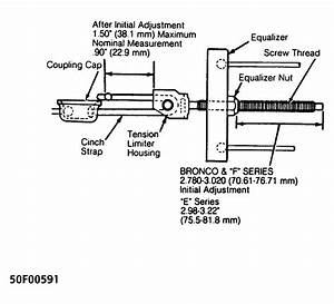 I Have A 1994 Ford F150  I Am Replacing The Parking Brake