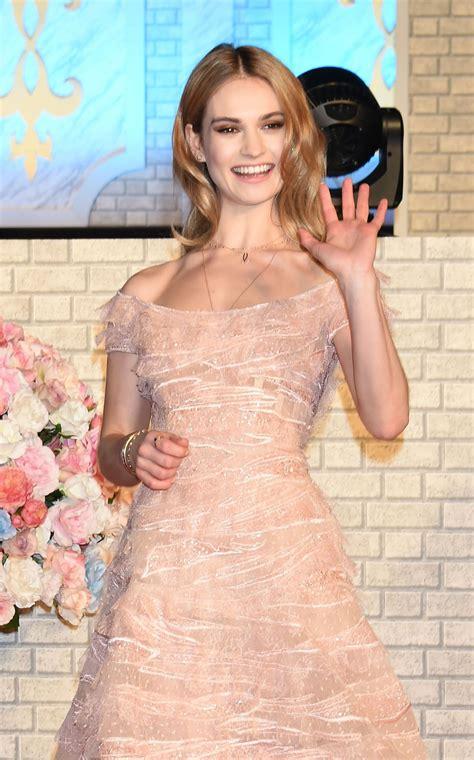 Lily James - Cinderella Premiere in Tokyo • CelebMafia
