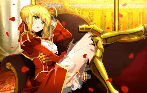 Sabernero Fate Extra Last Encore Nero Fate Stay
