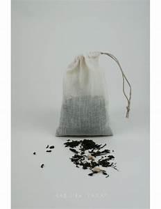 Sachets De Thé À Remplir : sachet de th r utilisable en mousseline de coton biologique e shop ~ Melissatoandfro.com Idées de Décoration