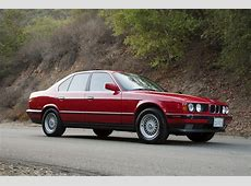 SoCal FS 1989 BMW 535i Cinnabar Red