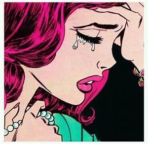 Sad girls Pop art   sad girl club   Pinterest   Pop art ...
