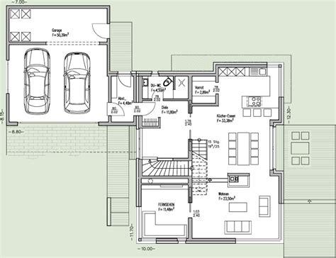 Grundriss Mit Doppelgarage by Toskana Haus Grundriss Mit Erker Wohn Design