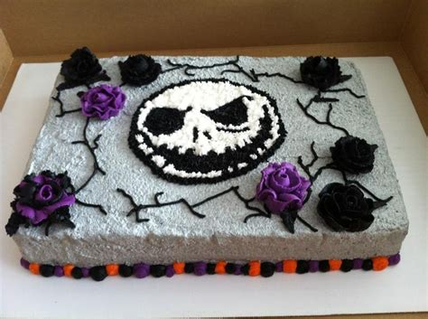 jack skellington cakes decoration ideas