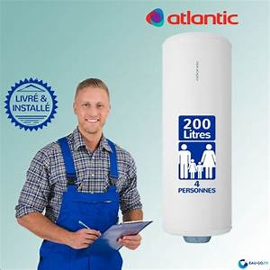 Atlantic Zeneo 200l : chauffe eau lectrique 200l atlantic z n o vertical ~ Premium-room.com Idées de Décoration