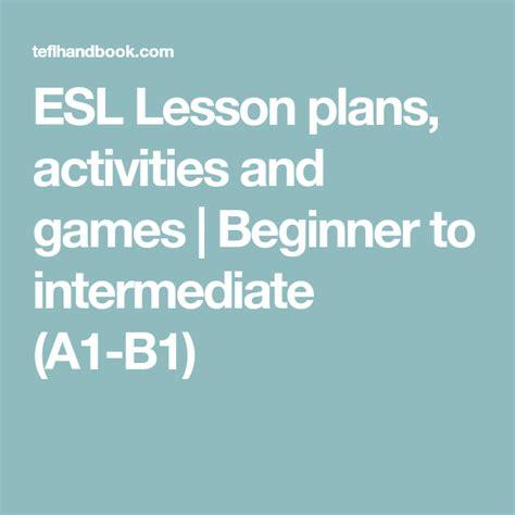 esl lesson plans activities  games  images esl