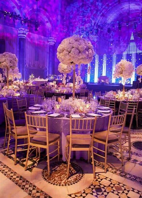 Royal Themed Wedding Gold wedding reception Wedding