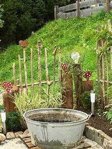 Wanddeko Für Garten : herzen im garten ogr d diy garden fence garden und ~ Watch28wear.com Haus und Dekorationen
