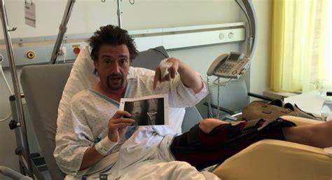 Jeremy Clarkson Gives Richard Hammond Crash Update