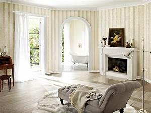 Schöner Wohnen Tapeten Wohnzimmer : royal trianon von rasch tapeten bild 76 sch ner wohnen ~ Markanthonyermac.com Haus und Dekorationen