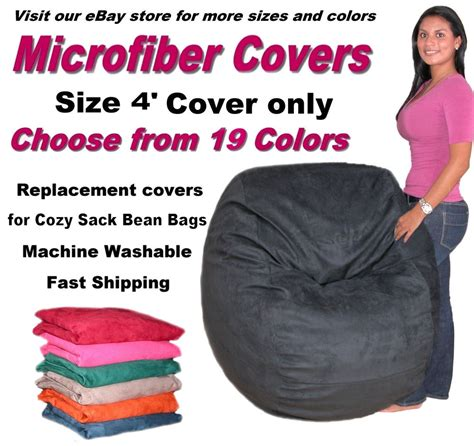 bean bag chair cover factory direct cozy sack store fits 4
