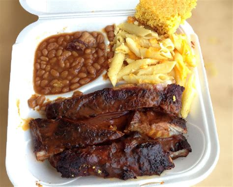 what goes with ribs review of bbq king 33312 restaurant 2500 w davie blvd