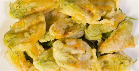 ricette fiori di zucca fritti ricetta fiori di zucca fritti in pastella ricette di
