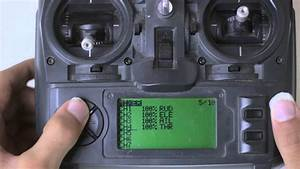 How To Setup The Turnigy 9x For A Quadcopter