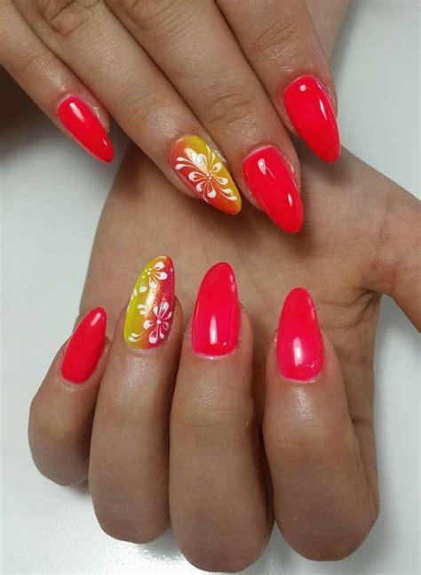 unghie a fiori unghie con fiori nails nel 2019 nail cherry