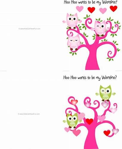 Valentine Cards Printable Owl Friends Printables Valentines
