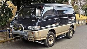 1991 Mitsubishi Delica L300 Turbo Diesel 4wd  Usa Import