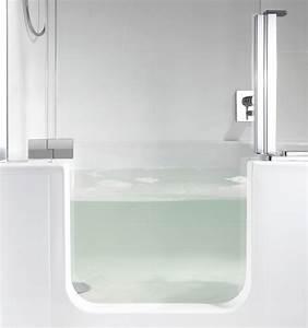 Douche Mur Verre : baignoire douche des id es sympas 25 photos fantastiques ~ Zukunftsfamilie.com Idées de Décoration
