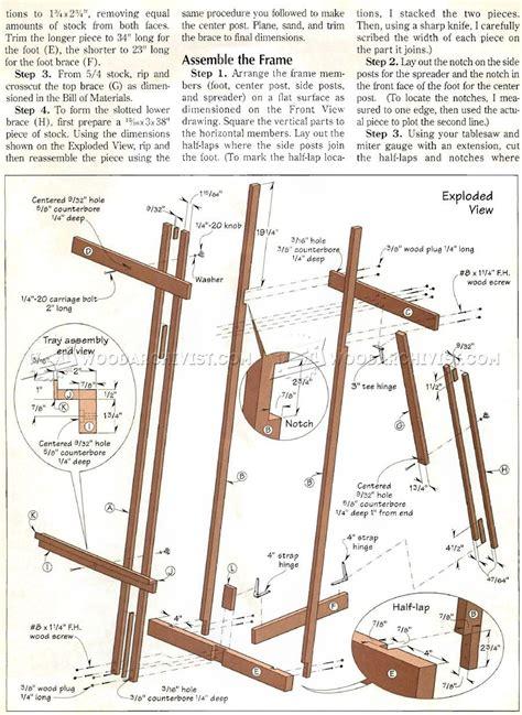 diy art easel art easel easel woodworking plans