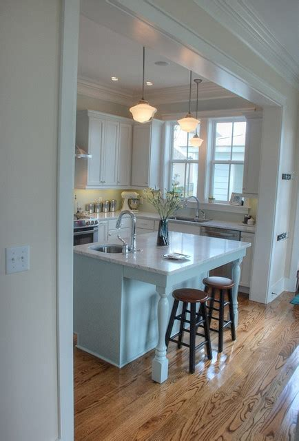 Long Kitchen Design Ideas - help deciding on cased openings to split up open floor plan