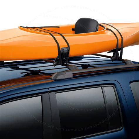 Boat Car Top Carrier by Universal Fit Mount Roof Top Saddle Rack Canoe Surf Boat