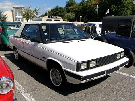 1985 renault alliance renault alliance 1 7l cabriolet 1985 224 1987 oldiesfan67